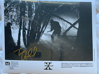 X-Files Quagmire Autographed Photo