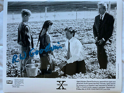 X-Files Herrenvolk Autographed Photo