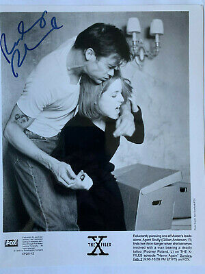 X-Files Never Again Autographed Photo