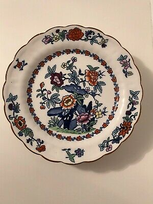 Booths Silicon China England - The Pompadour - 5 x 24cm Salad Plates - C1922-35