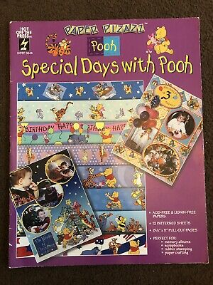 Special Days With Pooh Scrap Book Paper