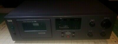 NAD Model 602  Dolby B&C Cassette Deck Works Great