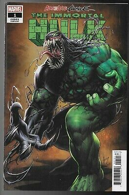 Absolute Carnage Immortal Hulk #1 Codex Dale Keown 1:25 Variant Venomized Fine+