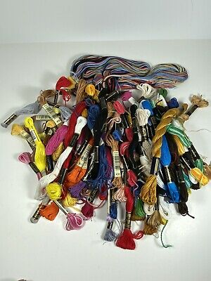 70 count Embroidery Cross Stitch floss lot Mouline Special 25 Designs for Needle
