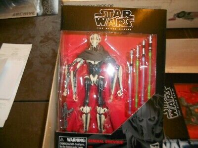 Star Wars the Black Series General Grievous Deluxe 6-Inch Action Figure NIB