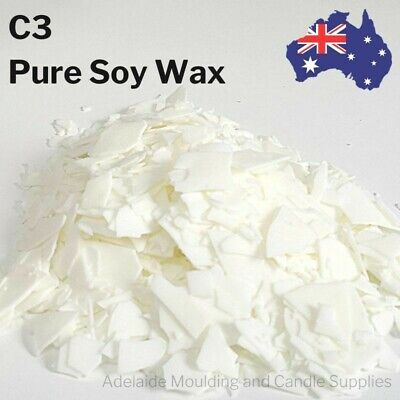 100% Pure Soy Wax 1kg, 5kg