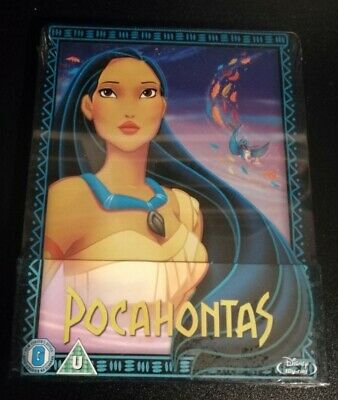 Pocahontas - Steelbook Blu Ray Zavvi Uk - Audio Ita - Sigillata