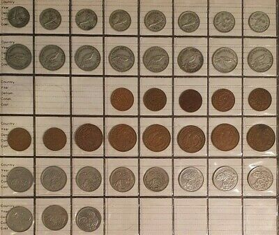 NEW ZEALAND - Selection of both PRE-DECIMAL and DECIMAL Coins