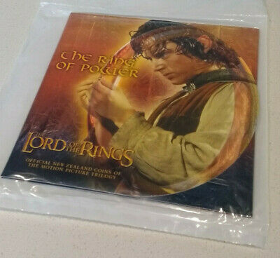 New Zealand Lord of the Rings $1 The Ring of Power.  MINT