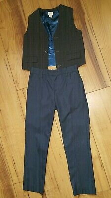 Kids Boys Monsoon party outfit Waistcoat & NEXT Trousers size 8 - 9 Years.