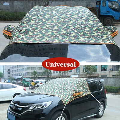 Universal Car Vehicle Windshield Cover Sun Shade Protector Rain Dust Frost Guard