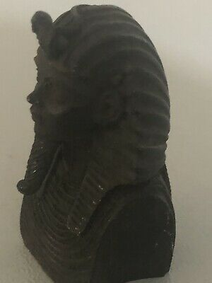Rare Ancient Egyptian King Tutankhamen Bust (1403-1365 BC)