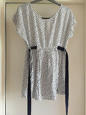 Blooming Marvellous Mothercare Maternity Top White Smart Size 14