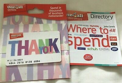 One 4  All Gift Card £50