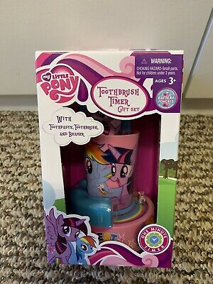 My little pony Toothbrush Timer Gift Set. New in box.