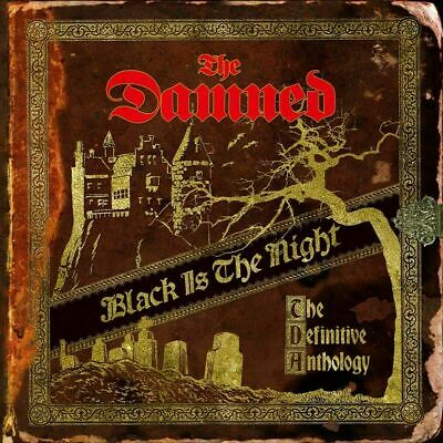 """Black Is the Night: The Definitive Anthology - The Damned (4x12"""" Gold Vinyl)"""