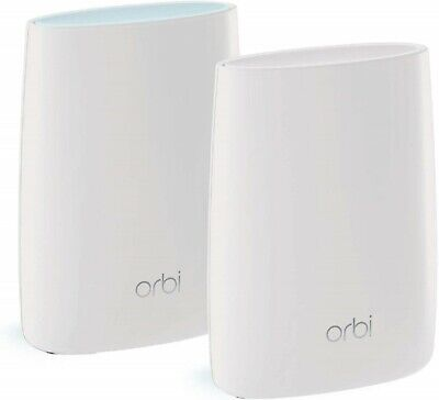 NETGEAR Orbi RBK50 Ultimate-Performance Whole Home Mesh WiFi System - Twin Pack