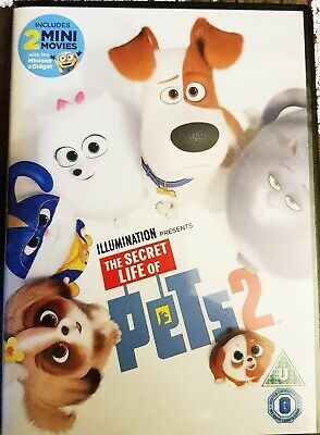 The Secret Life Of Pets 2 DVD 2019 Unopened