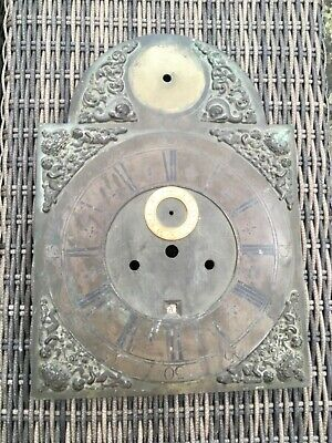 Early 18thc Longcase clock dial