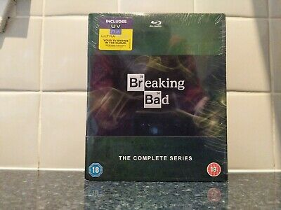 Breaking Bad: The Complete Series - Blu-ray - New/Sealed