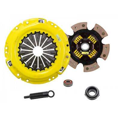Act 6 Pad Sprung Xtreme Clutch Kit For Toyota Corolla 85-87 4Age 1.6Gts Tl1-Xtg6