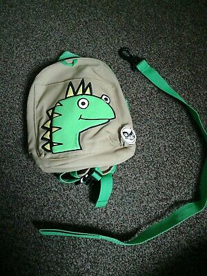 Toddler Zip And Zoe Rucksack Bag With Strap dinasour babymel