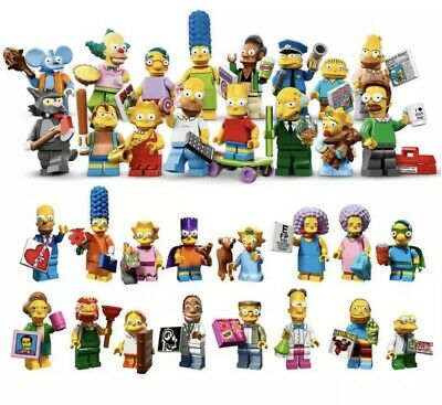 incl 71009 complete set LEGO Simpsons Series 2 minifigures: Pick your own
