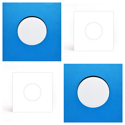 "50 SHEETS - BLUES & WHITES PAPER RECORD SLEEVES FOR VINYL 7"" EPs (45RPM)"