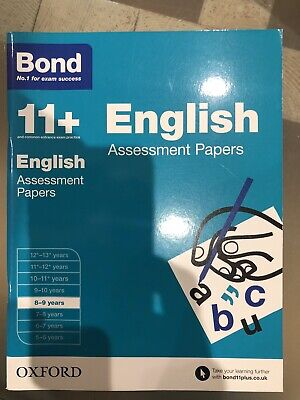 Bond 11 plus Assessment Papers English Assessment Papers 8-9Years