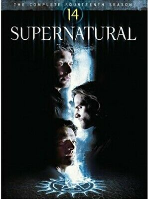 New Supernatural Season 14 DVD Box Set Jared Padalecki Jensen Ackles Free Post