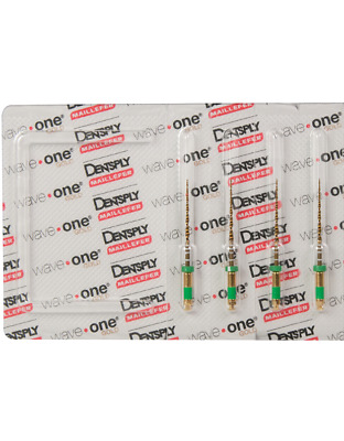 Waveone Gold Wave One Medium Green Endodontic File Root Canal Dentsply 4pk 21mm