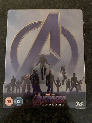 Avengers: Endgame - 3D/2D - Blu-ray Steelbook - Zavvi Exclusive