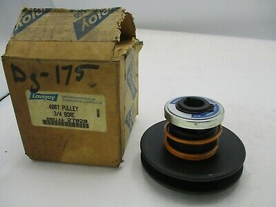 "New Lovejoy 4007 Pulley Variable Speed 3/4""In Bore"