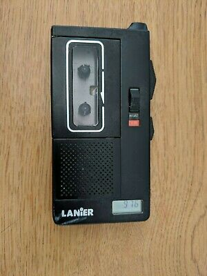 Lanier P-154 Handheld Microcassette Voice Recorder Tested