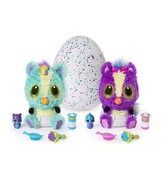 Hatchimals Hatchibabies Ponette Or Cheetree Hatching Egg Interactive Christmas