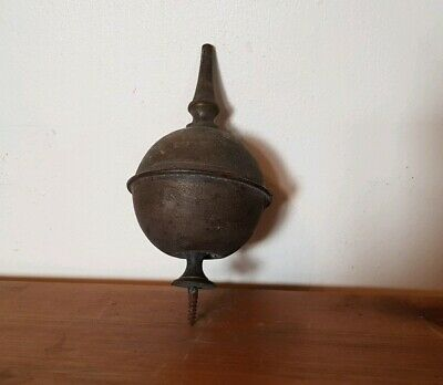 Antique Brass Clock Finial