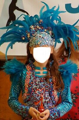 Freestyle fast solo dance costume U12 catsuit and jacket