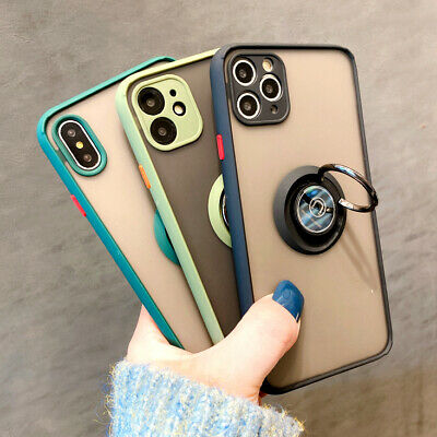 iPhone 11/Pro/Max Xs/X XR Bumper Case Clear Hard Shockproof Slim Hybrid Cover