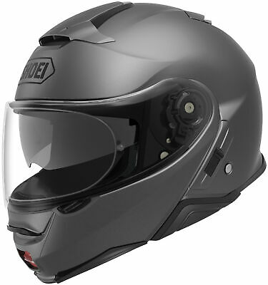New Matte Deep Grey Shoei Neotec II Solid Color Helmets All Sizes