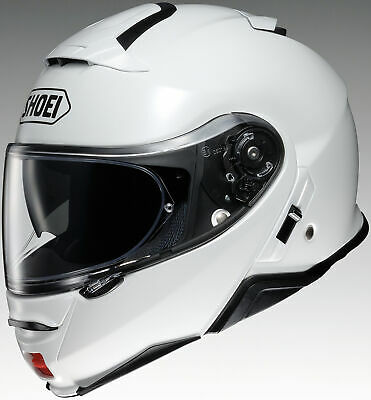 New White Shoei Neotec II Solid Color Helmets All Sizes
