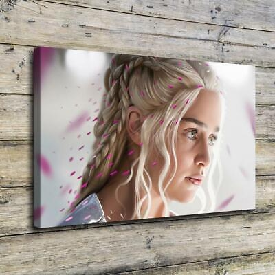 "12""x18""Daenerys Targaryen Poster HD prints Painting Home Decor Picture Wall art"