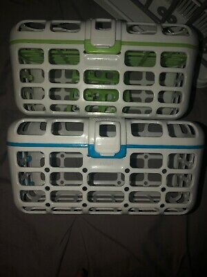 Lot Of Baby Bottle Drying Rack Dishwasher Baskets Munchkin