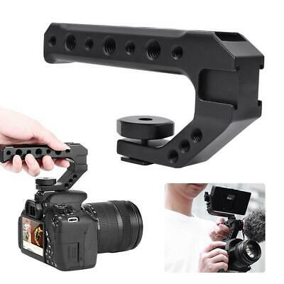 Ulanzi UURIG R005 Hand Grip Camera Handle with Cold Shoe Mount 1/4''&3/8'' Holes