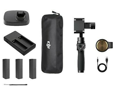 DJI OSMO MOBILE 1 (Includes 3 batteries, battery charger, counterweight, stand)
