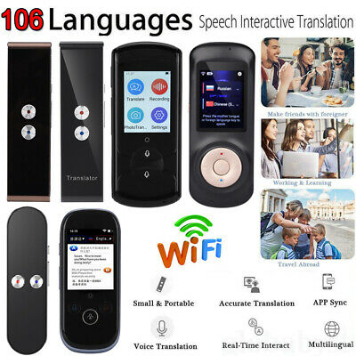 Translaty MUAMA Enence Smart Instant Real Time Voice 106 Languages Translator