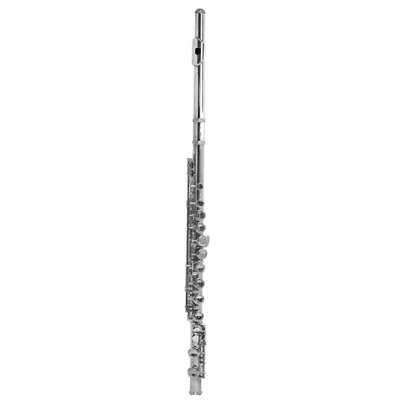 Windsor Nickel Plated Flute with Case