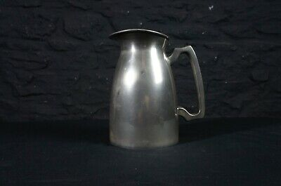 Antique English Pewter Jug ~ Flower Arranging ~ Table Centrepiece ~ Water Beer