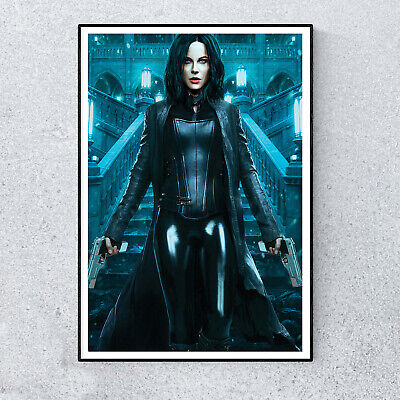Underworld Kate Beckinsale Horror Film Movie Glossy Print Wall Art A4 Poster