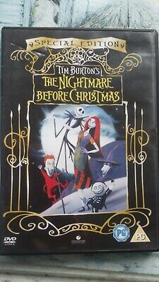 the nightmare before Christmas by tim burton special edition dvd