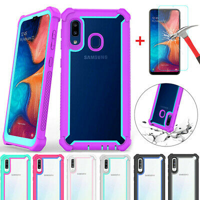 For Samsung Galaxy A10 A20e A50 Shockproof Hybrid Rugged Protective Case Cover
